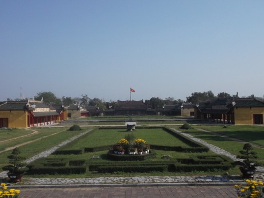 Palace grounds, Hue